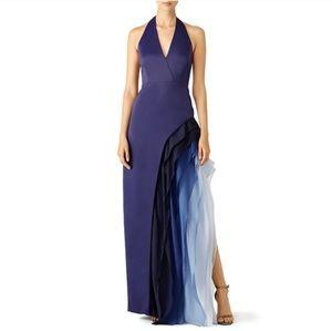 NWT Stunning Halston Heritage Cascade Gown
